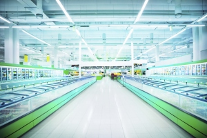 Supermarket Refrigerated Section